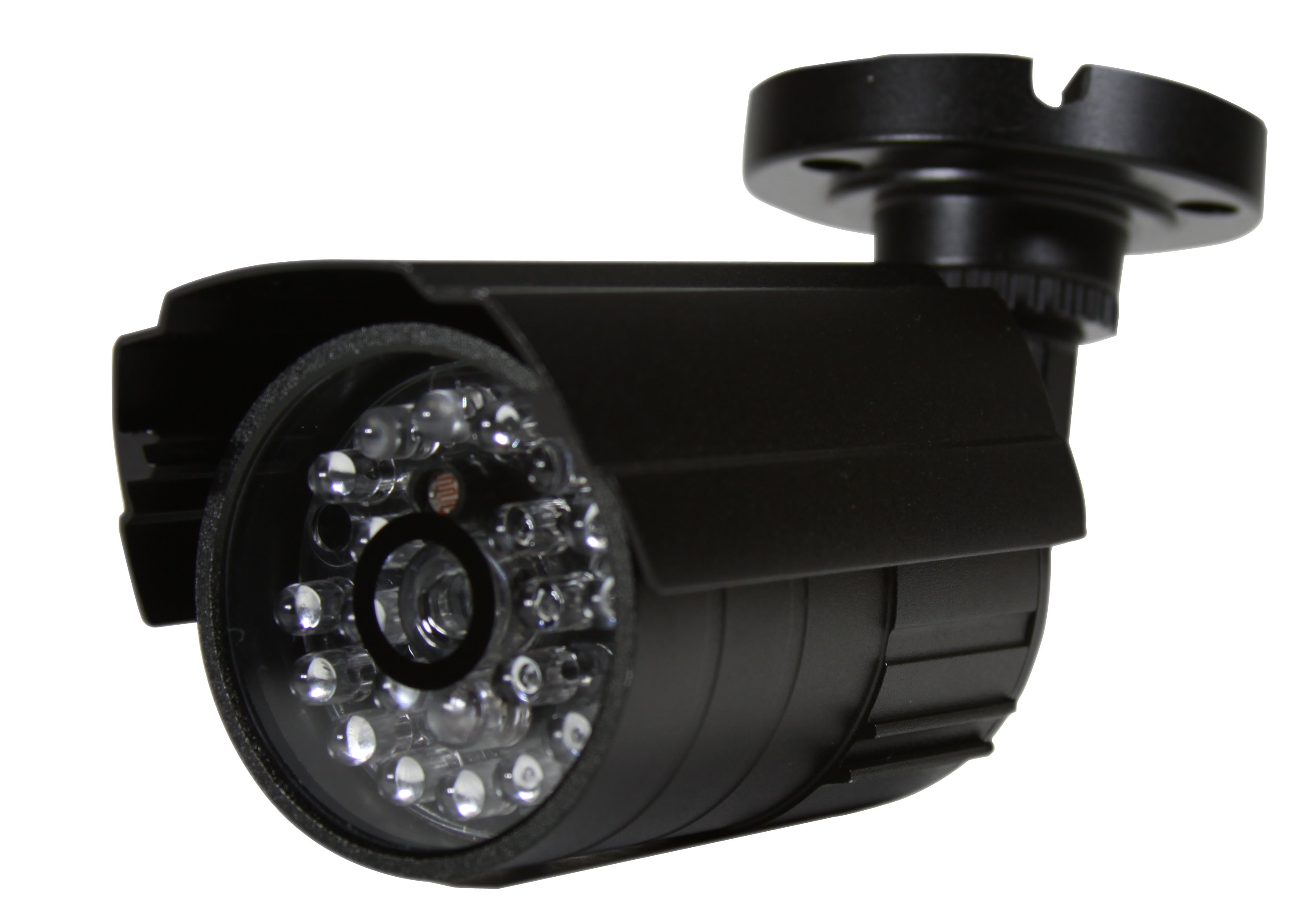 First Alert PRO-DC5 Battery Operated Low Light Activated Barrel Decoy Camera, Black Housing, Indoor/Outdoor