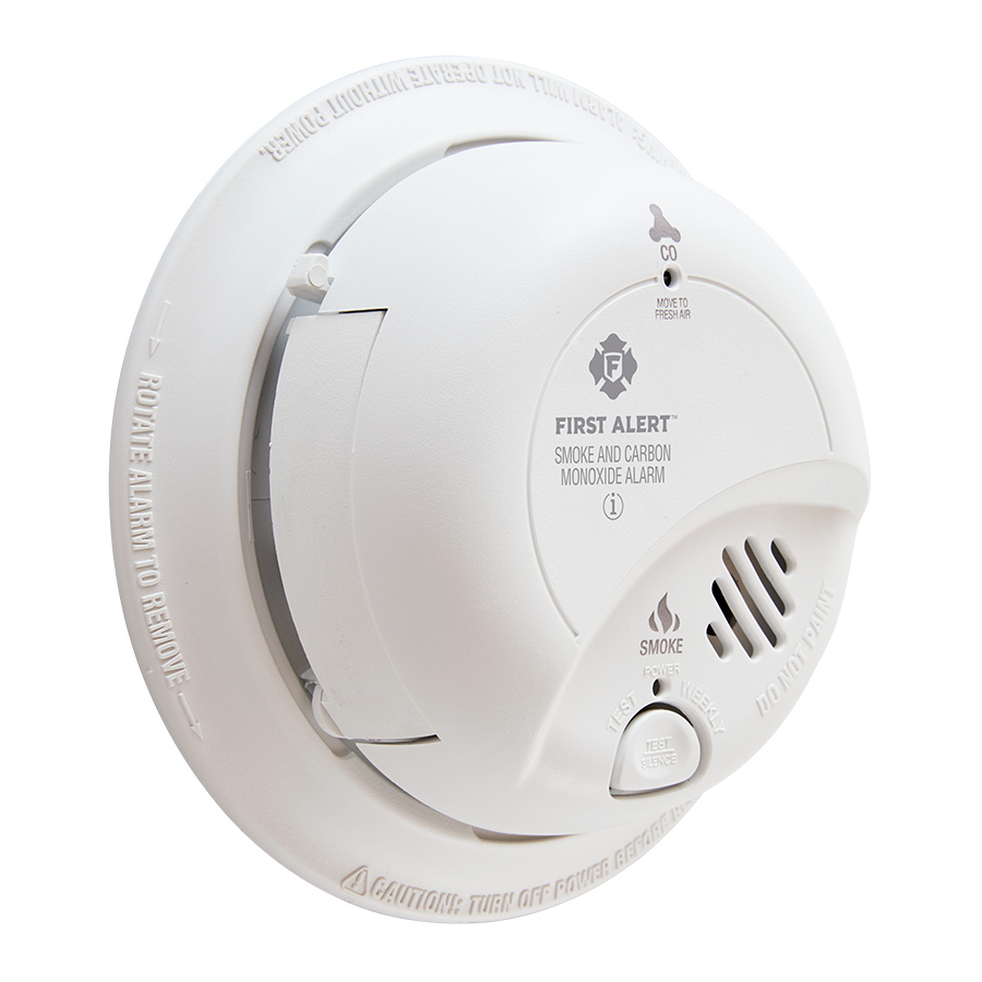 120v Ac Dc Smoke Co Combo Alarm